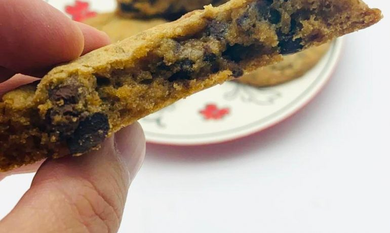 Perfect choc chip cookies