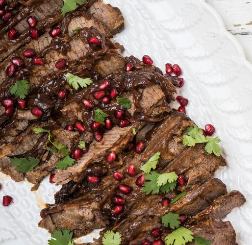 Brisket With Pomegranate