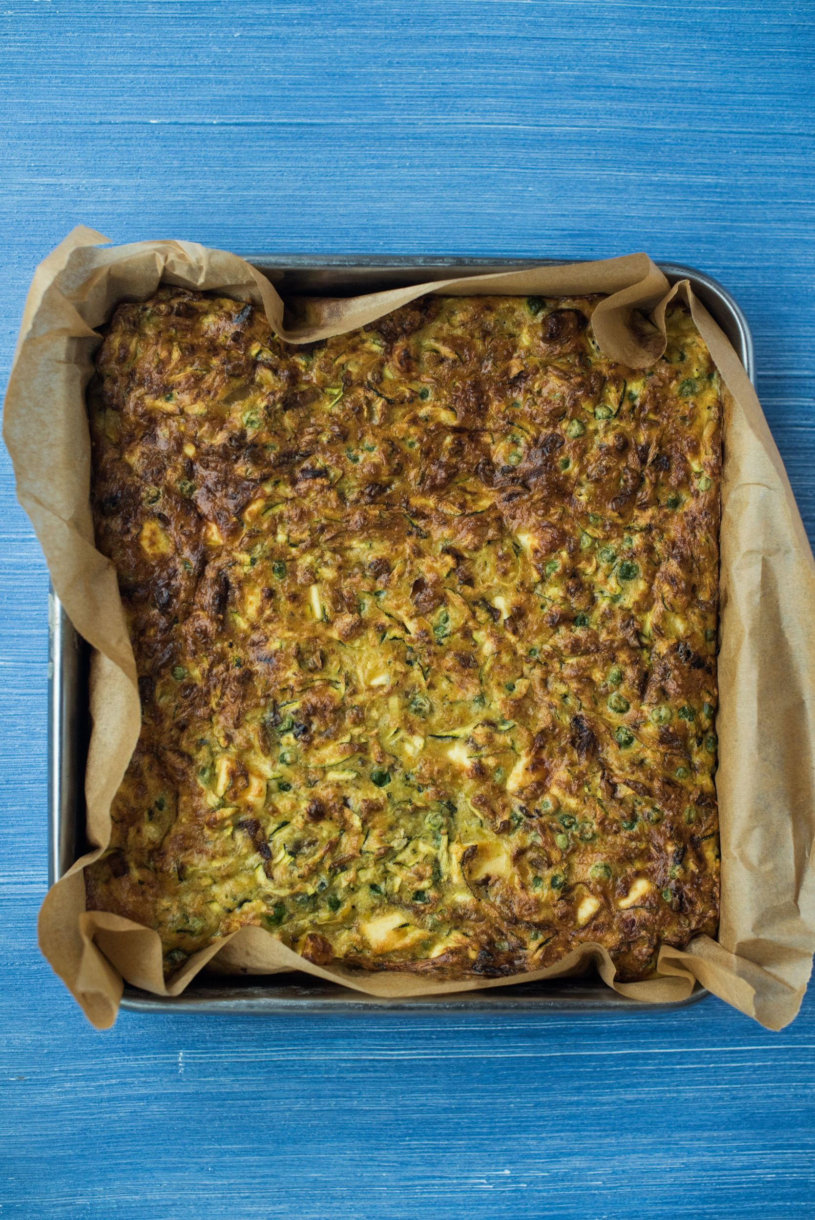 PASHTIDA – COURGETTE AND RICOTTA BAKE