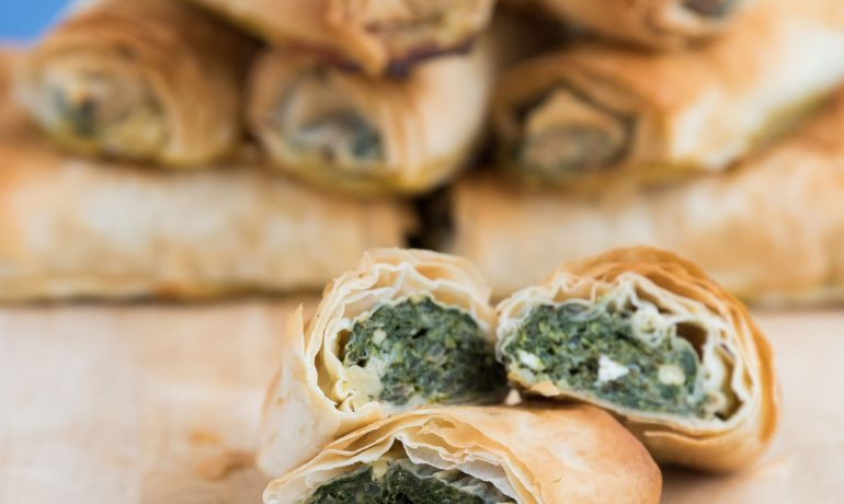 Spinach and Feta Rolls - or Pie