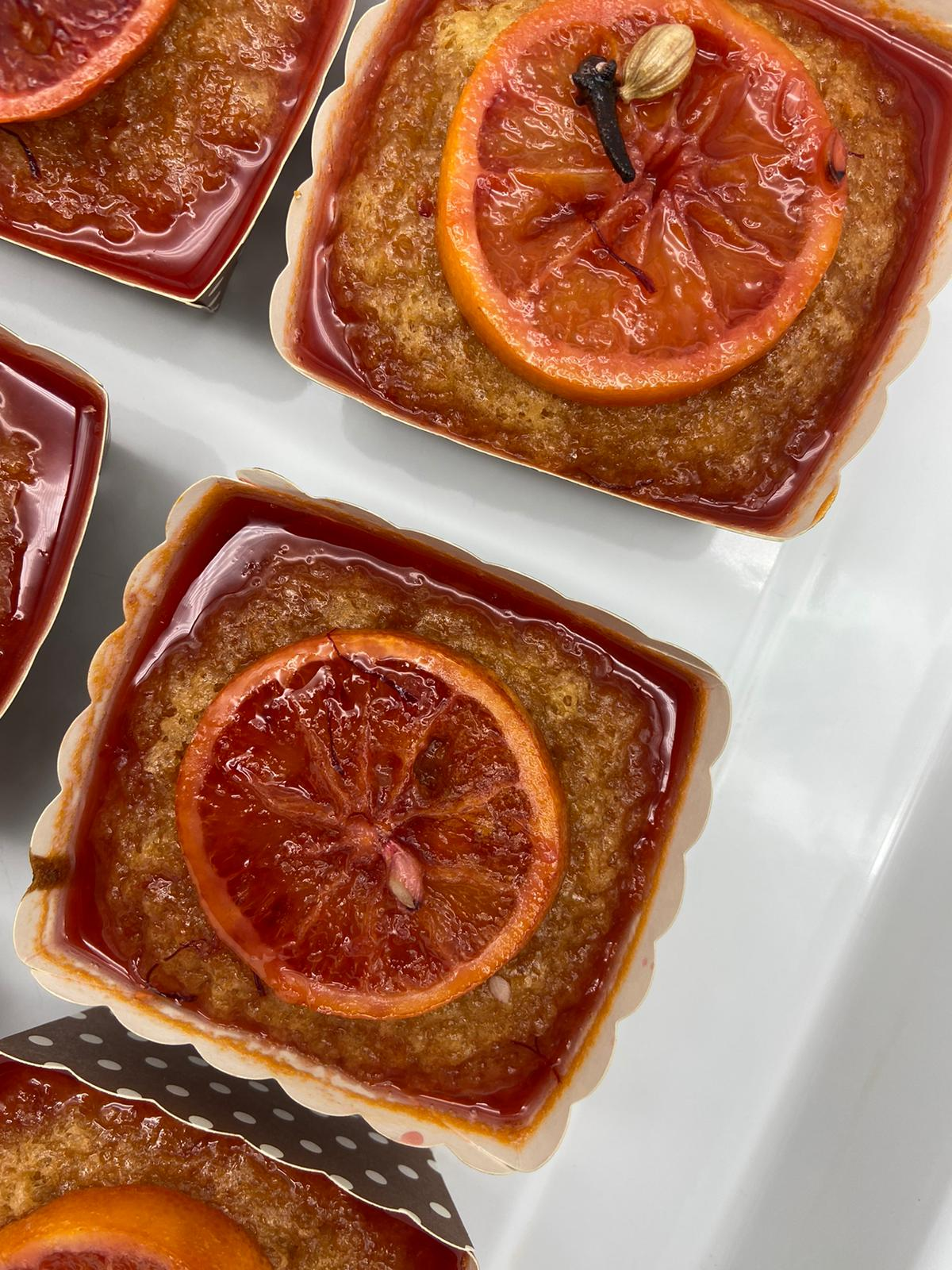 BLOOD ORANGE AND ALMOND CAKE