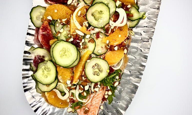 ROASTED TROUT SALAD