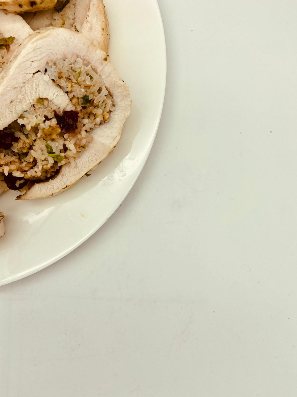 TURKEY AND CRANBERRY ROLL
